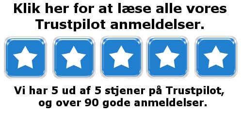 Trustpilot-Stjerner